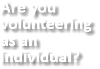 Are you volunteering as an individual?